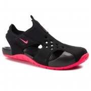 Sandale NIKE - Sunray Protect 2 (PS) 943826 003 Black/Racer Pink