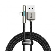 Cablu de date/incarcare Baseus, Mobile Game Elbow, USB Type-C 2M 4 A, Negru