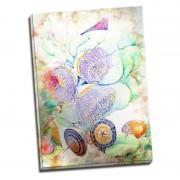 Tablou flori exotice - Emotie in nuante pastel 50x70 cm