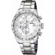 Reloj F16759/1 Plateado Festina Hombre Timeless Chronograph Festina