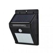 Lampa Solara de exterior cu incarcare solara senzor de lumina si miscare 20 LED-uri 1200 mAh 3.7V