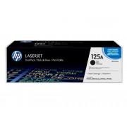 HP Pack de ahorro de 2 cartuchos de tóner Original LaserJet HP 125A Negro para HP Color LaserJet CP1215 , CP1515n, HP Color LaserJet CM1312 , CM1312nfi