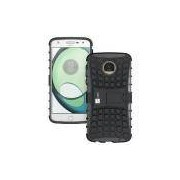 Capa Para Motorola Moto Z Play Guardian Preta Anti Impacto - Up Case