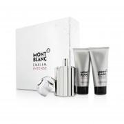 Mont Blanc Emblem Intense Coffret: Eau De Toilette Spray 100ml/3.3oz + Shower Gel 100ml/3.3oz + After Shave Balm 100ml/3.3oz 3pcs