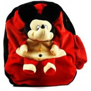 Cute Mickey Soft Toy Plush School Bag For Kids