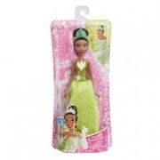 Hasbro Princesas Disney - Tiana- Muñeca Brillo Real