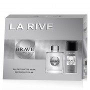 La Rive Brave man - set cadou apa de toaleta + deodorant