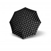 Knirps Pocket Manual Paraplu T-010 Dot Art Black