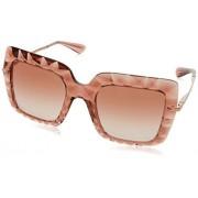 Dolce & Gabbana Dolce and Gabbana DG6111 314813 DG6111 anteojos de sol cuadradas (talla S), color rosa