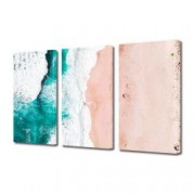 Tablou Canvas Premium Peisaj Multicolor Abstract-plaja Decoratiuni Moderne pentru Casa 3 x 70 x 100 cm