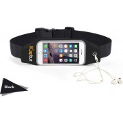 iCaptur Running / Fitness Belt Sports Heuptas Waist Band Waterproof Running geschikt voor elke Smartphone: Iphone, Samsung
