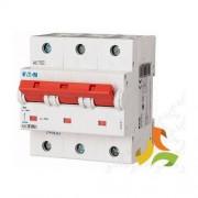 EATON MOELLER Wyłącznik nadprądowy klasy C 100A 3-biegunowy, bezpiecznik trzypolowy PLHT-C100/3 Eaton-Moeller