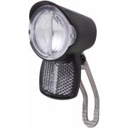 Spanninga koplamp Brio XDO led 15 Lux 45 mm dynamo zwart