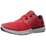 Under Armour Men's Micro G Fuel Running Shoes, Red/Glacier Gray, 11 D(M) US