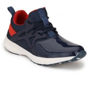 Server Men's Navy Hot Hip-Hop Mid Ankle Sports look Casual Sneaker