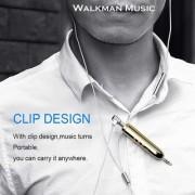 Favourite Deals Bluetooth Receiver Mini Portable Wireless 3.5mm Aux Stereo Multi-Function Pen Golden