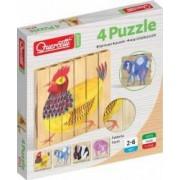 Joc Puzzle lemn Ferma Quercetti