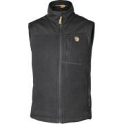 FjallRaven Buck Fleece Vest - Graphite - Gilets Fleece XS