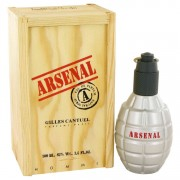 Arsenal Red Eau De Parfum Spray By Gilles Cantuel 3.4 oz Eau De Parfum Spray