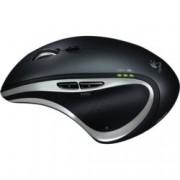 Мишка Logitech Performance MX, лазерна, безжична, USB, черна