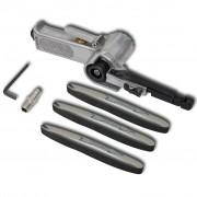vidaXL Airpress Pneumatic Belt Sander with 3 Pcs Belts