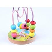 Mini Bead Maze Wooden Educational Toy,Rabbit