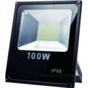 Proiector Led SMD Antracit 100W 9400 lm 3100k Alb Cald - Adeleq