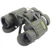 Seeker 8x42mm Binoculars,Porro Lenses High Definition Wide Angle BAK4 Night Vision Telescope for Hunting,Camping, Hiking