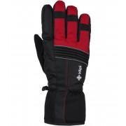 KILPI Unisex lyžařské rukavice GRANT-U JU0160KIRED Červená L
