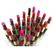 NN (KNOWN AS NYN) LONG LASTING MATTE RICH COLOR PROFESSIONAL 24 SHADES LIPSTICK SET