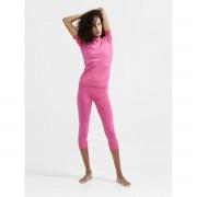 Craft Warm Intensity Women - tričko Barva: black/granit, Velikost: L