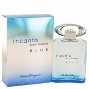 Incanto Blue For Men By Salvatore Ferragamo Eau De Toilette Spray 3.4 Oz