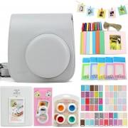 Bolsa Para Fuji Mini8/8+/9 Conjunto Para Fotos - Blanco