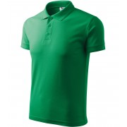 ADLER Pique Polo Polokošile 20316 středně zelená XXXL
