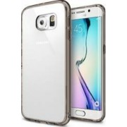 Husa Ringke Fusion Samsung Galaxy S6 Edge G925 Smoke Black + Folie fata si spate
