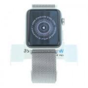 Apple Watch Series 2 Edelstahlgehäuse 42mm mit Milanaise-Armband silber Edelstahl Silber