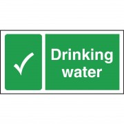 Nisbets Drinking Water Sign