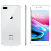 iPhone 8 Plus 64GB Silver Olåst i topp skick Klass A