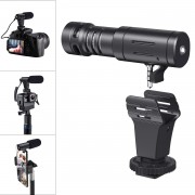 MAMEN MIC-03 3.5mm Plug Camcorder Microphone Camera Recording Microphone
