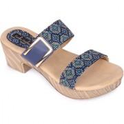 Funku Fashion Women's Blue heel