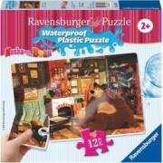 Puzzle RavensBurger Masha si Ursul 12 Piese cu Rezistenta la Apa