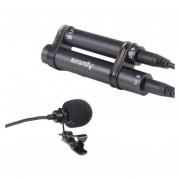 Aputure A.lav Tipo Clip Lavalier Omnidireccional Profesional Mini Micrófono Con Protección Contra El Viento Para Teléfono Móvil Videocámara DV DSLR