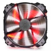 Вентилатор за кутия DeepCool XFAN 200 Red LED, DP-XF200RD_VZ