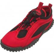Playshoes Rood met zwarte waterschoenen voor volwassenen