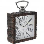 Ceas de masa din lemn Cronos