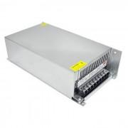 Fuente de alimentacion de conmutacion de alta potencia de 170 ~ 250V a CC 12V 50A 600W - plata
