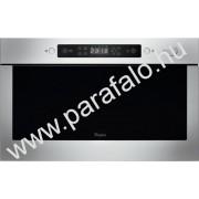 WHIRLPOOL AMW 439 IX Felsõ szekrénybe is építhetõ mikrohullámú sütõ
