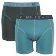 Vinnie-G boxershorts Leaves Uni 2-pack -L