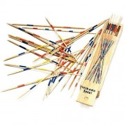 Wooden Pick Up Sticks 6 Inch 6 Pack