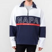 NAPA by Napapijri B-Anzere Half Zip Crewneck Multicolor